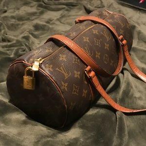 Vintage Butterfly Louis Vuitton purse